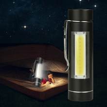 Litwod Z90+ LED COB MINI Flashlight Torch LED 1 Mode use 14500 or AA Battery For Reading Camping working lantern(China)