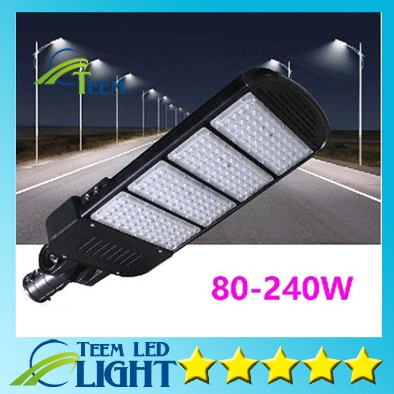 X4 DHL Outdoor lighting high-pole led steet light 80W 100W 120W 150W 200W 240W led road pick arm street lights waterproof IP67 d20w30w40w50w60w80w road lamp head can pick arm street lights