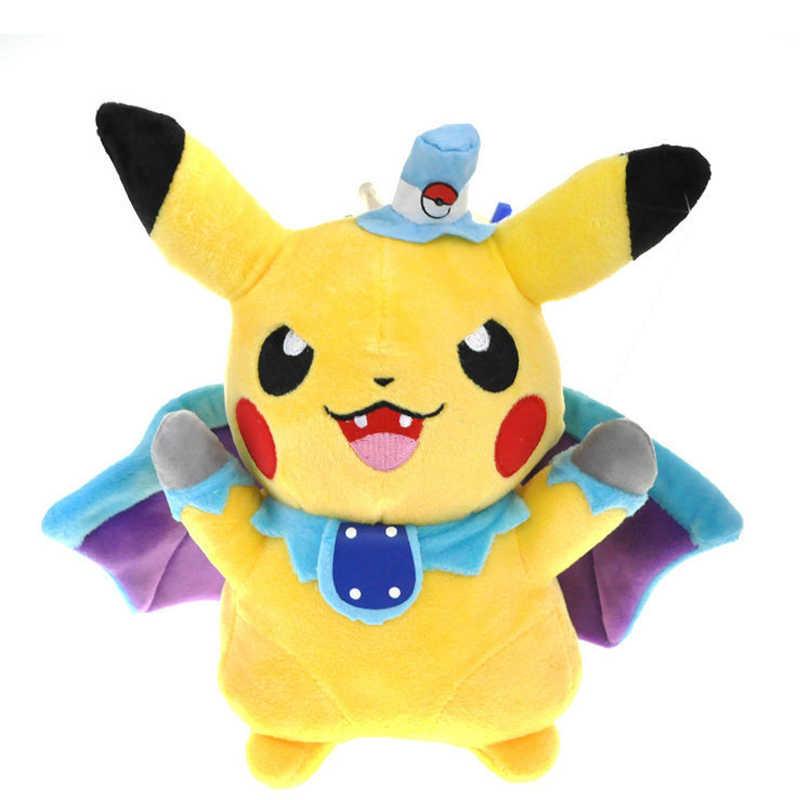24 см Пикачу Косплей вампира летучая мышь мягкие игрушки для детей подарок милая мягкая игрушка мультфильм аниме Kawaii детские игрушки