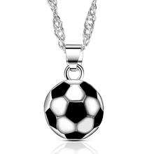 2019 new classic fashion football women men pendant necklace best gifts for sport lovers