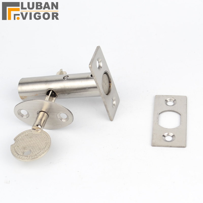 цена на Stainless steel pipe well lock,Concealed door, lock Pipe/Fire door/ Escape/Aisle/Invisible lock,door hardware