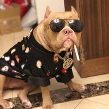 Купить с кэшбэком Dogs clothes winter coat jacket bluza dla psa dog hoodie french bulldog clothes fleece sweater felpe cani pets costumes 5d0143