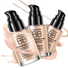 1pc Concealer Base Foundation Persistent BB cream shake powder foundation Whitening and moisturizing concealer invisible pores(China)