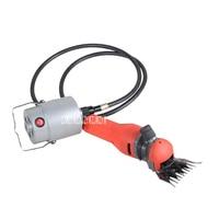 Hohe Leistung Mini Flexible Welle Elektrische Schaf Ziege Schermaschine Wolle Scissor 760 Watt 220 V Mit 13 Gerade Zähne klinge