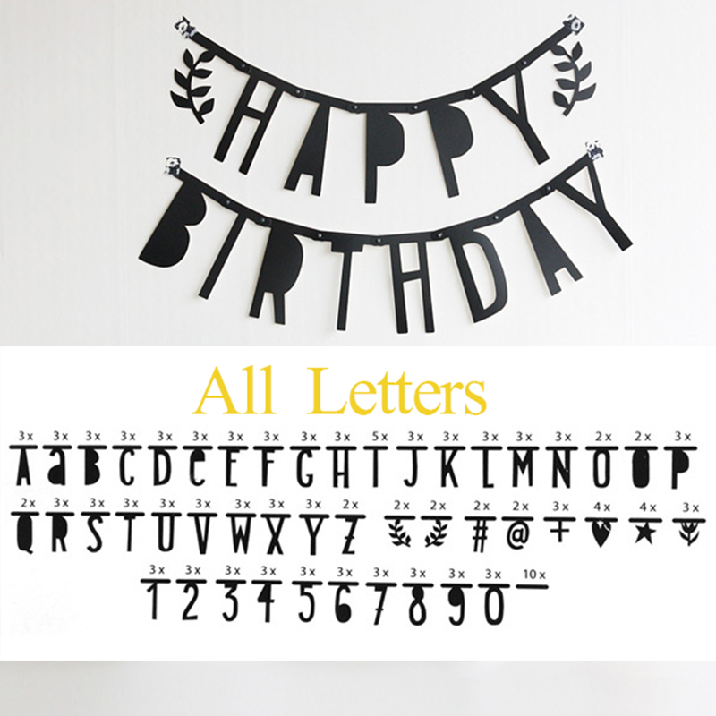 alle engels alfabet letter/nummer/symbool diy verwijderbare sticker
