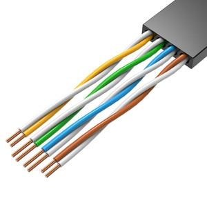 Image 2 - Cabo de remendo liso 1 m/5 m/10 m/20 m do cabo rj45 do lan da rede do gato 6 dos ethernet da vention cat6 para ethernet do cabo do portátil do roteador de pc