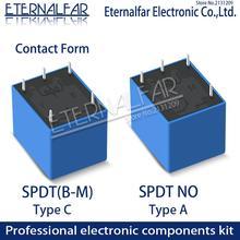 Time Relays SRD-24VDC-SL-A 5V 6V 9V 12V 24V 48V DC 10A 125V 250V AC SPDT NO Typc A 4PIN B-M C 5PIN PCB T73