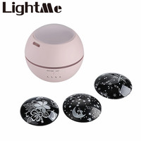 LightMe Premium Humidifier Projector Lamp With Colorful Projection Starry Night Light For Beautiful Bedroom Children Gift