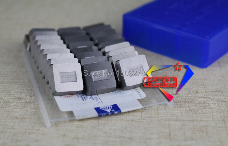 YT14 4160511 Zhuzhou  cemented carbide 30pcs/box milling machine clip blade square face milling cutter for steel/cast steel