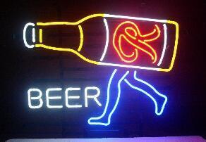 Rainier Beer Glass Neon Light Sign Beer Bar