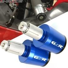 CNC 22MM Motorcycle accessories Handlebar Grips Handle Bar Cap End Plugs For SUZUKI GSR 600 400 750 GSR750 GSR600 GSR400