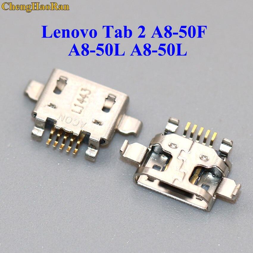 ChengHaoRan 1pcs Mini Micro USB Connector Charging Socket Port Jack Power Plug Repair For Lenovo Tab 2 A8-50F A8-50L A8-50L