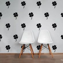 Clover Wall Sticker 4 Leaf Decal DIY Pattern Decors Cut Vinyl Stickers P28