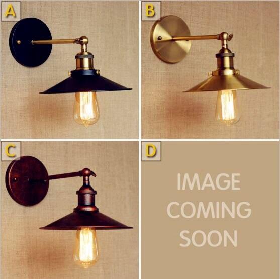 Edison Retro Vintage Λαμπτήρας Τοίχου LED - Εσωτερικός φωτισμός - Φωτογραφία 3