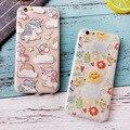 Phone7 6 Más Caso de La Cubierta Encantadora del Unicornio Pájaro Sol Estrella Soft TPU caja del teléfono para iphone 7 plus 6 s capa coque funda trasera Shell