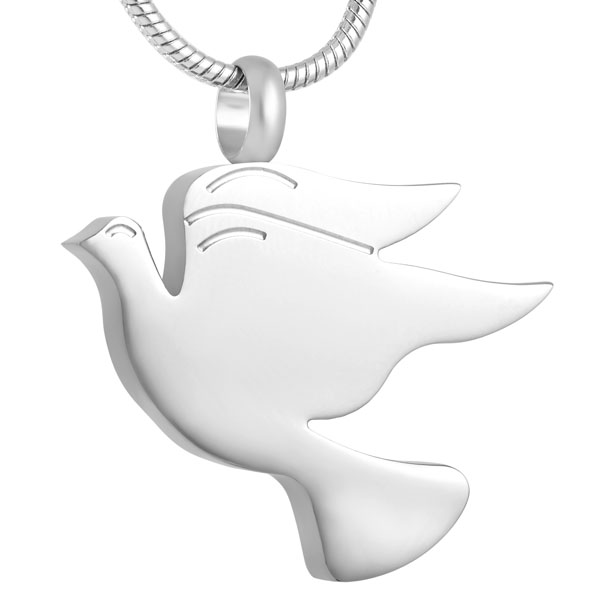 Ijd8712 dove shaped silver blank pet cremation tag pendant ashes ijd8712 dove shaped silver blank pet cremation tag pendant ashes holder keepsake funeral urn fashion jewelry unisex in pendant necklaces from jewelry aloadofball Gallery