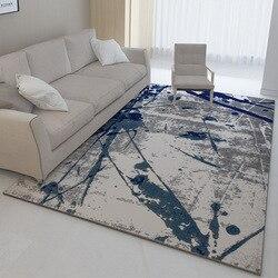 Chiński abstrakcyjne sztuki dywan drukowanie duży dywan duży rozmiar domu dywan nowoczesny dywan do salonu zagęścić salon dywan mata