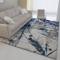 Chinese Abstract Art Rug Printing Large Carpet Big Size Home Rug Modern Living Room Carpet Thicken Parlor Rug Mat