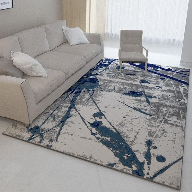 Chinois Art abstrait tapis impression grand tapis grande taille maison tapis moderne salon tapis épaissir salon tapis tapis