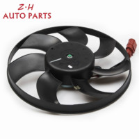 NEW Air Conditioning Cooling Fan Assembly 3C0 959 455 G Fit VW Rabbit Jetta Golf GTI MK5 MK6 Passat B6 1K0 959 455 ET