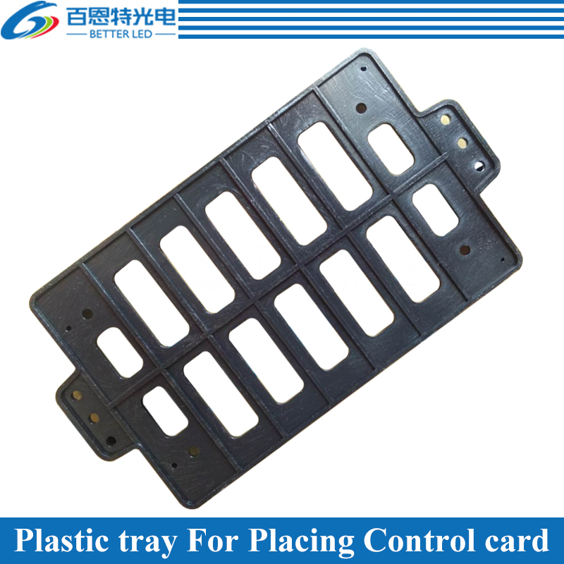 10pcs/lot Plastic Tray For Placing LED Display Control Card