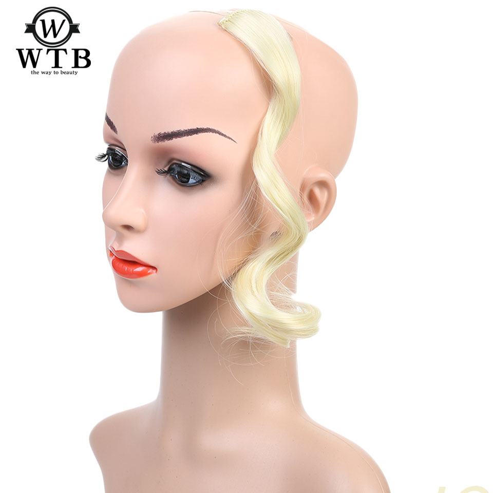 Wtb Wig Heat Resistant Synthetic Hairstyles Short Curly Wig