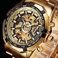 Forsining Top Brand Luxury Watch Men Sport Watches Mens Fashion Watch montre homme Automatic Mechanical Wrist Watch Skeleton