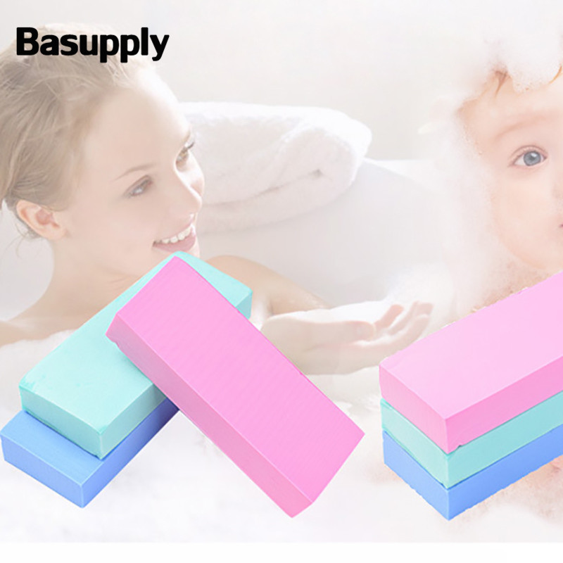 Basupply 1Pc PVA Absorbent Sponge Shower Children Bath Sponge Body Cleaning Shower Bathroom Accessories Dropshipping