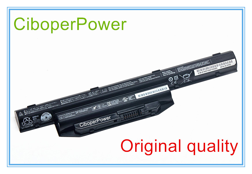 10.8 V 4500 mAh Batterie D'ordinateur Portable D'origine pour AH564 AH544 S904 FPCBP416 FPCBP405 FMVNBP227 FMVNBP231 FMVNBP229A 6 CELLULAIRE
