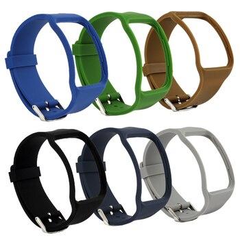 Bemorcabo 2 pçs substituição pulseira para samsung galaxy gear s SM-R750 relógio inteligente, toque macio sentimento tpu, pulseira de relógio