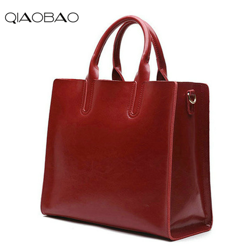 QIAOBAO New Arrive Female Crossbody 100% Leather Handbags Tote Women Messenger Bags Ladies Fashion Leather Portable Shoulder Bag qiaobao 2018 new korean version of the first layer of women s leather packet messenger bag female shoulder diagonal cross bag