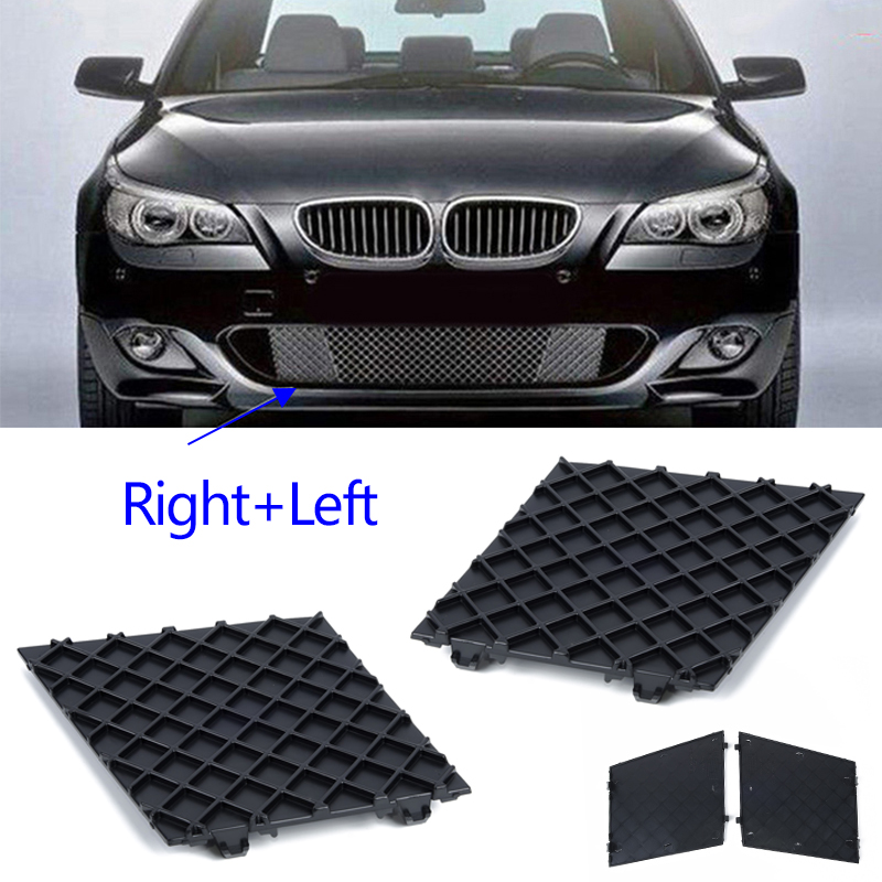 Image 3 - Cars Front L/R Bumper Covers Lower Mesh Grille Trim For BMW E60 E61 M Sport New-in Front & Radiator Grills from Automobiles & Motorcycles