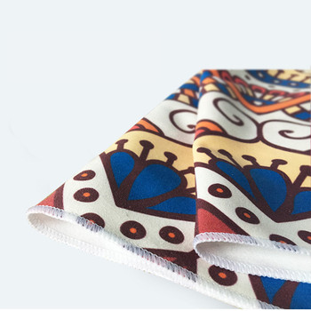 Printed Yoga Towel Microfiber 183*65cm Non Slip Yoga Blanket Absorb Sweat Yoga Mat Cover Towel Pilates Fitness Beach Mat Towel 3
