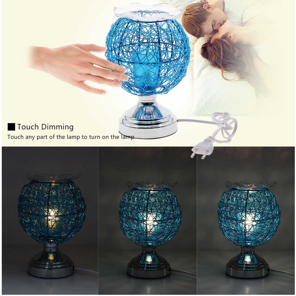 Dimmable Aromatherapy Nest Table Lamp 220V Electric Fragrance Essential Oil Lamp Air Aroma Diffuser Night Light Christmas Decor 3