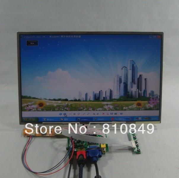 HDMI+VGA+2AV LCD Controller board+15.4inch 1680*1050 lcd LTN154P1 B154SW01 LTN154P1 LTN154P2 LP154W02 B154SW01 N154Z1 vga hdmi lcd controller board for lp156whu tpb1 lp156whu tpa1 lp156whu tpbh lp156whu tpd1 15 6 inch edp 30 pins 1 lane 1366x768
