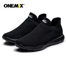 Onemix мужская обувь для женщин летние Лоферы тапочки спортивная для пара уличная Удобная сетка легкая спортивная обувь Бесплатная доставка