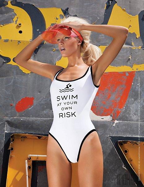 White Sports One Piece Swimsuit Vintage White Monokini Strappy One Piece Swimwear Sexy White Bathing Suit