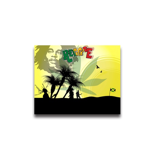 Hot sale Fashion Design Art Posters Printed Bob Marley Wall Stickers ...