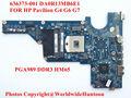 Alta qualidade laptop motherboard para hp pavilion g4 g6 g7 636373-001 hm65 da0r13mb6e1 pga989 ddr3 totalmente testado