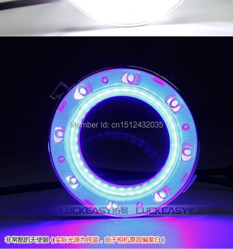 Osmrk для Forester 2008-2013 светодиодные DRL фары дневного света точная замена сигнала поворота, руководство светлая полоса, голубой Ангел глаза