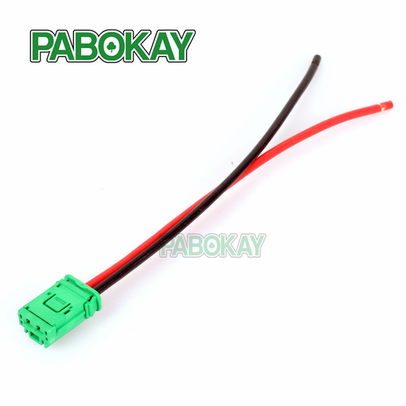 High Quality NEW Blower Motor Heater Fan Resistor font b Connector b font font b Wire online get cheap wire connector renault aliexpress com alibaba  at nearapp.co