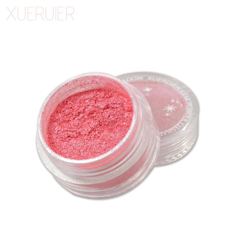XUERUIER 1 PCS Maquiagem Glitter Shimmer Mineral Eyeshadow Makeup 20 Colors Full Size eye shadow Fashion