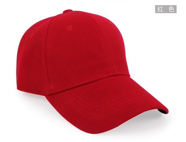 Newly Cheapest Cap Blank Plain Baseball Caps Solid Color Adjustable Hat For  Men Women Mix Color Mix Order Free Shipping eca2994500a