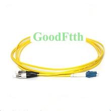 Fiber Patch Cord Jumper FC/UPC-LC/UPC FC-LC UPC SM Duplex GoodFtth 20-50m