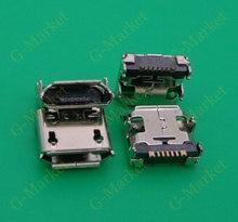 500ピース/ロット送料無料サムスンi929 s6802 s6352 s239マイクロusb充電充電コネ