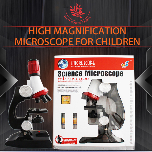 US $18 0 |hot sale sufficient factory price quality biological 1200X Zoom  plastic monocular microscope-in Medical Science from Office & School
