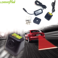 Car Styling Car Rear Fog Light Laser LED Warning Auto Brake Parking Light Red Warning Light