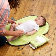 Baby Portable Diaper Changing Pad Nappy Changing Clutch Map Travel Changing Station(China)