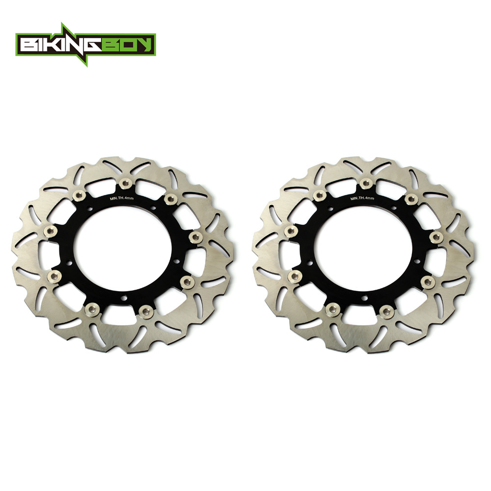 Front Brake Discs Rotors for YAMAHA YZF R6 03 04 FZ6 600 FAZER S2 04-08 XJ6 DIVERSION 09-15 MT03 660 06-11 MT09 850 ABS 14 15 16