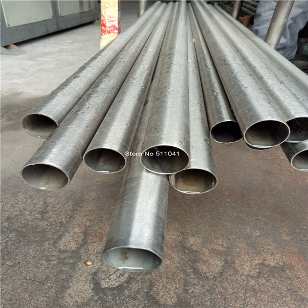 Gr2 titanium tube OD35mm x 1mm wall thickness, Length 500mm,4pcs